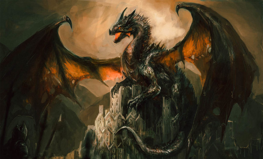 Folklore and Fiction: Dragons in Modern Times and Ancient